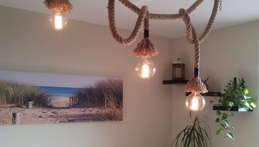 Lights and a rope