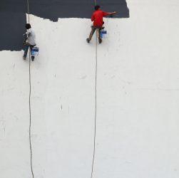 Whitewashing walls